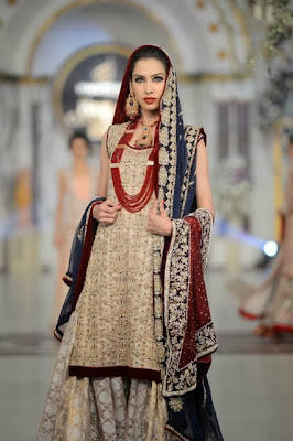 Rani Emaan - Pakistani Bridal Fashion at Pantene Bridal Couture Week 2013 PBCW Lahore