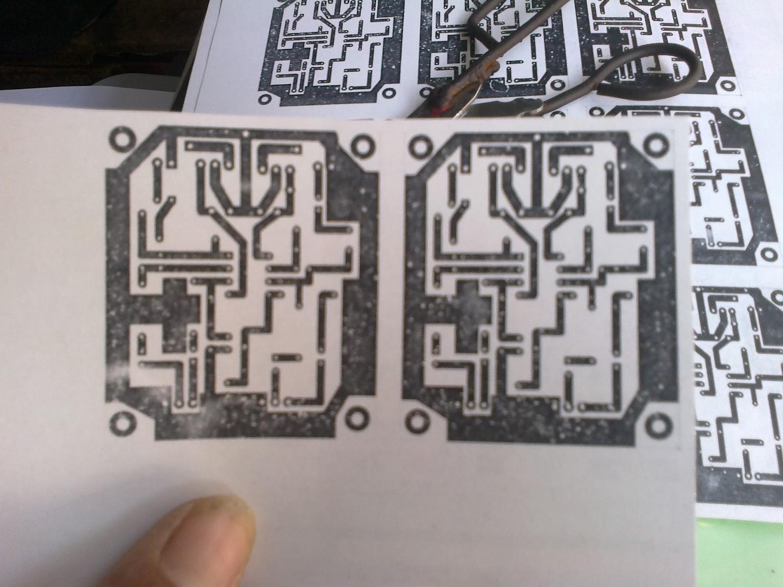 Cara Mudah Cetak PCB Dengan Setrika dan Kertas Kalender