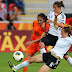 result women euro cup 2013 group A game 2