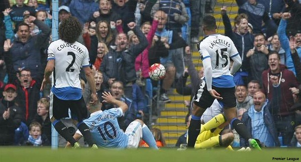 Hasil Lengkap BPL Sabtu Malam 3 Okt 2015, Man City Sukses Tekuk Newcastle 6 Gooll!