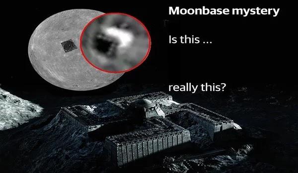 Η NASA έψαχνε για βάση   των εξωγήινων στη Σελήνη,