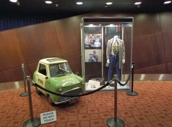 Ty Burrell Muppets Most Wanted Interpol car costume