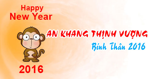 Ảnh chúc tết an khang thịnh vượng 2016 đẹp