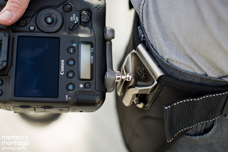 Spider Holster with Canon 1D X