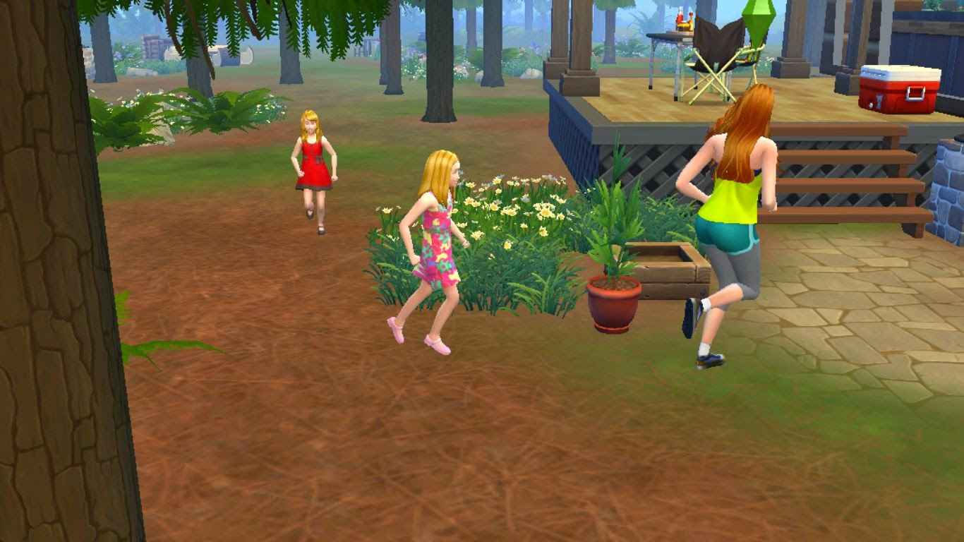 sims 4 outdoor retreat gameplay