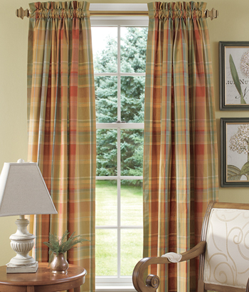 Modern furniture rod pocket curtains designs ideas 2012 for Curtain ideas for living room 2012
