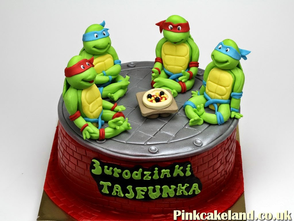 Teenage Mutant Ninja Turtles Birthday Cake, London