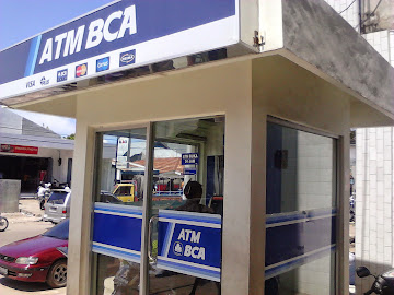 ATM Bank BCA Di Mataram, Lombok
