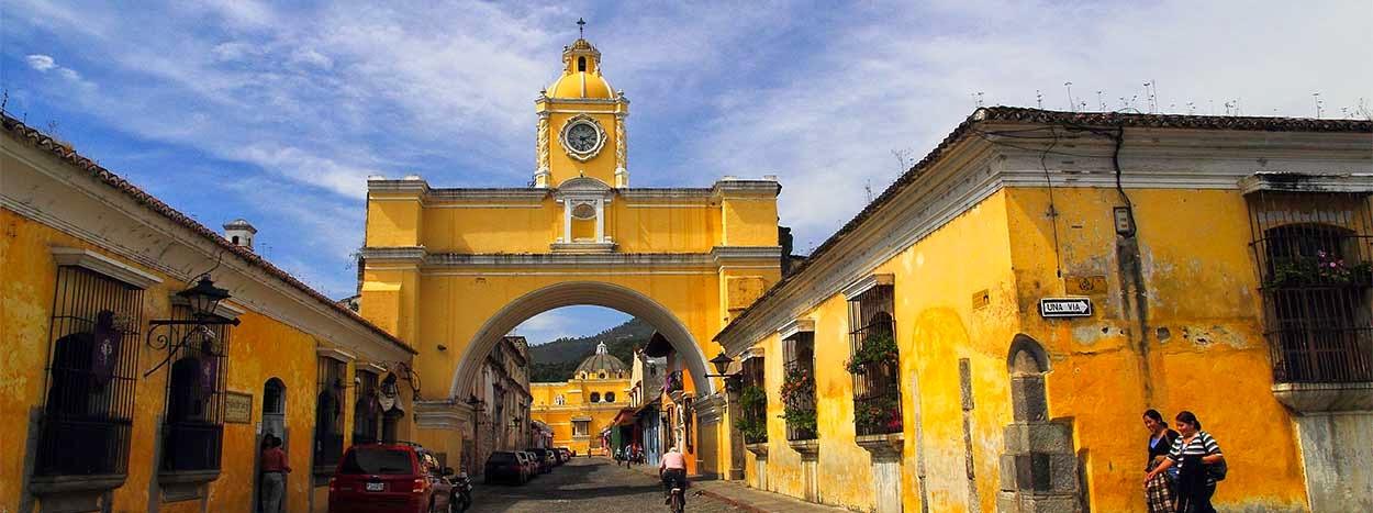 La ciudad Antigua de Guatemala