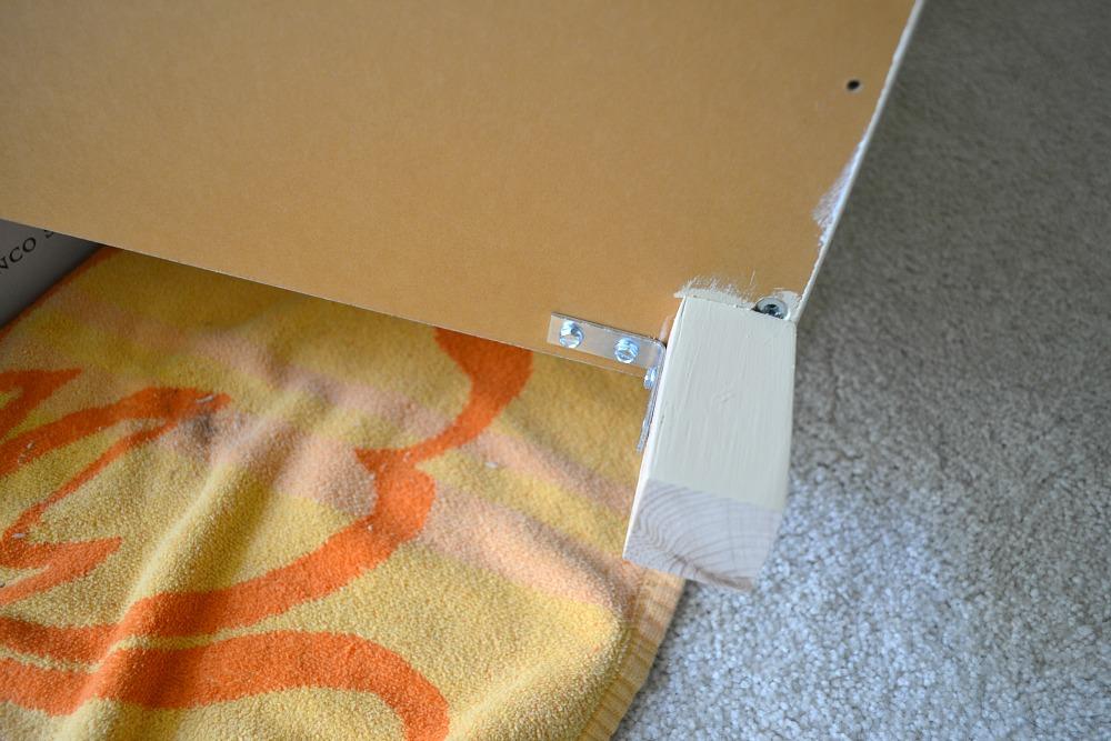 how to cut laminate shelving 2
