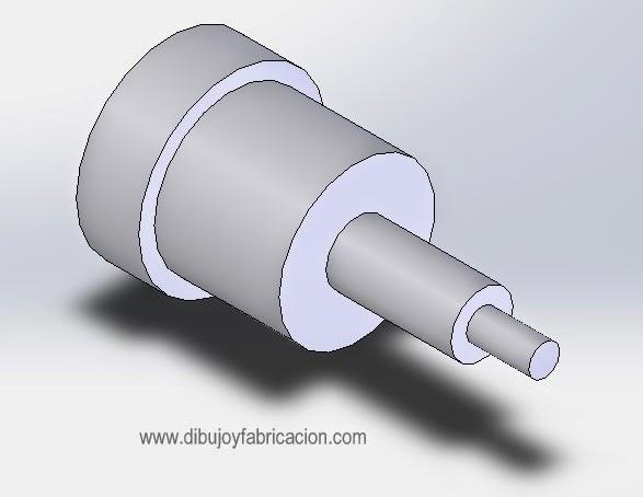 Dibujo y Fabricacin PIEZA N4  Escalonado en el Torno  Planos
