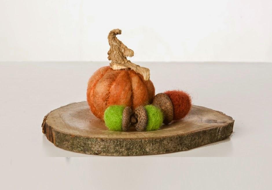 Decoracion para Halloween con Fieltro y Madera