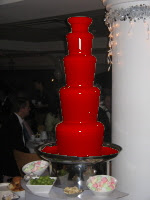 True Blood Chocolate Blood Fountain @ Northmans Party Vamps