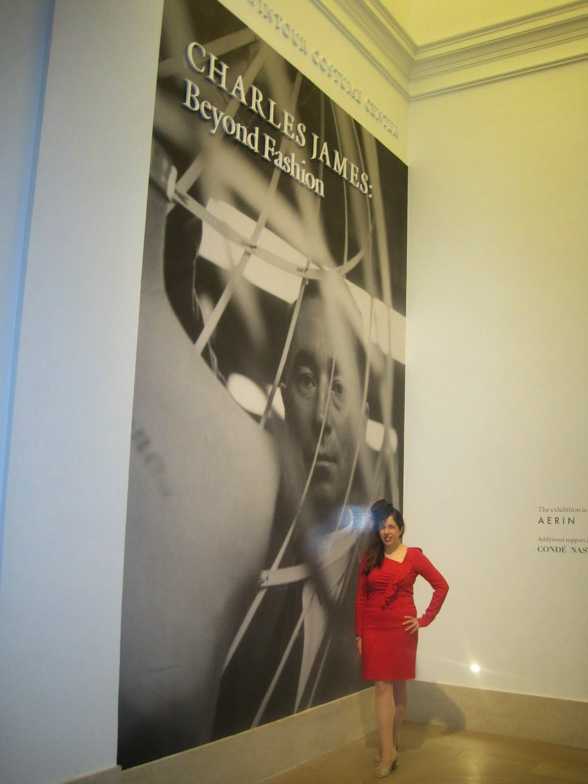 The Metropolitan Museum of Art Charles James Coverage