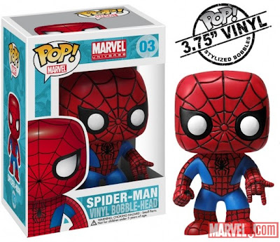 Spider-Man Funko Marvel Bobble-Head