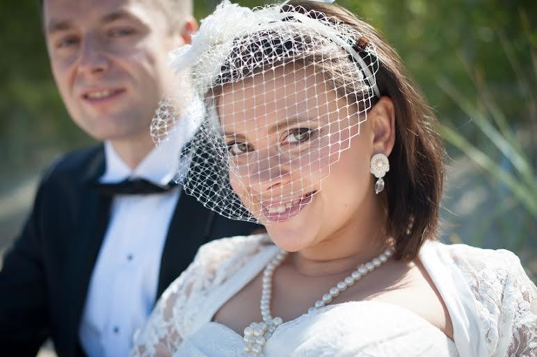 Perłowe sztyfty ślubne
