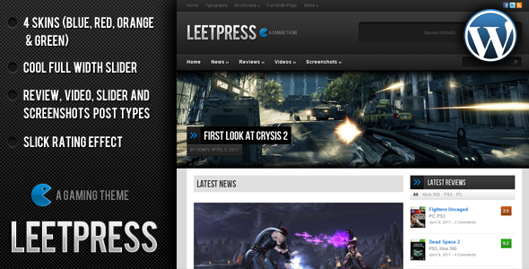 Image for LeetPress – Gaming Theme by ThemeForest