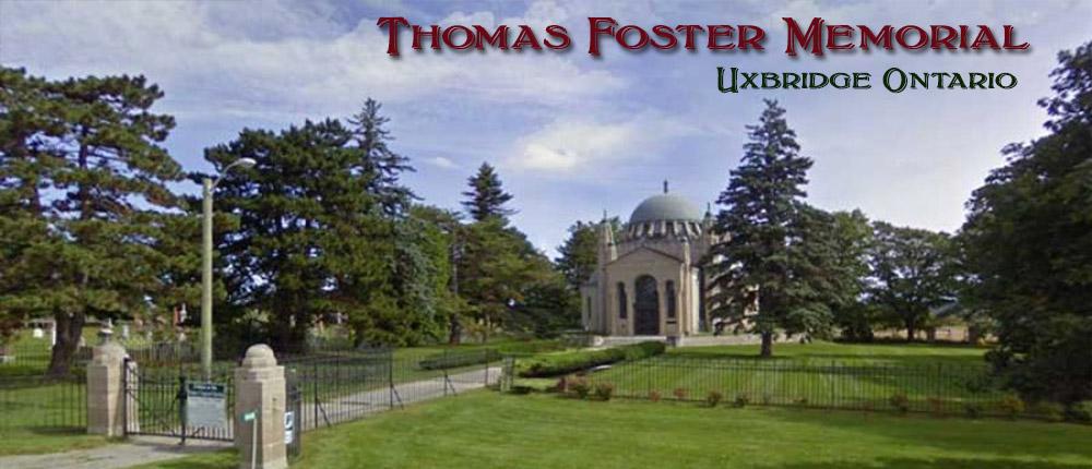 Thomas Foster Memorial