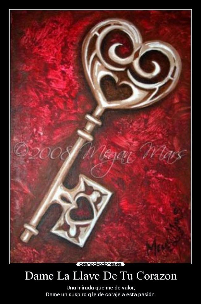 Letras con alma y coraz n una llave al coraz n - La llave del hogar ...