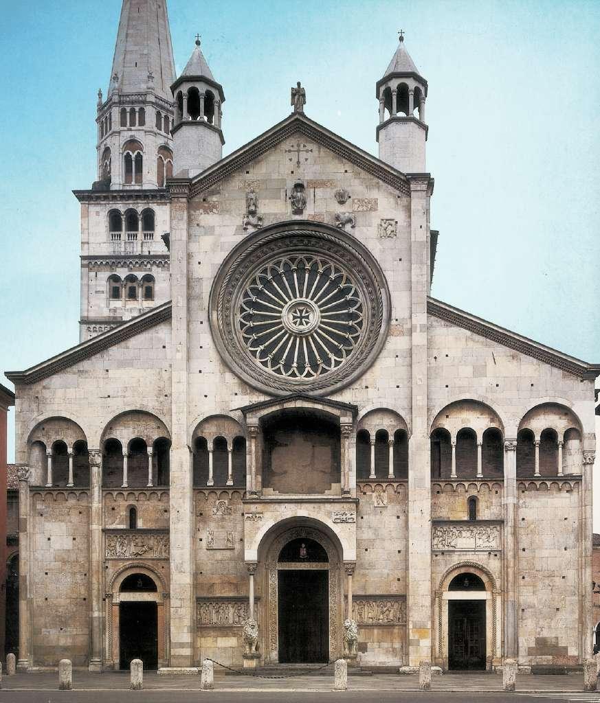 Arte intorno a noi il romanico - Finestre circolari delle chiese gotiche ...