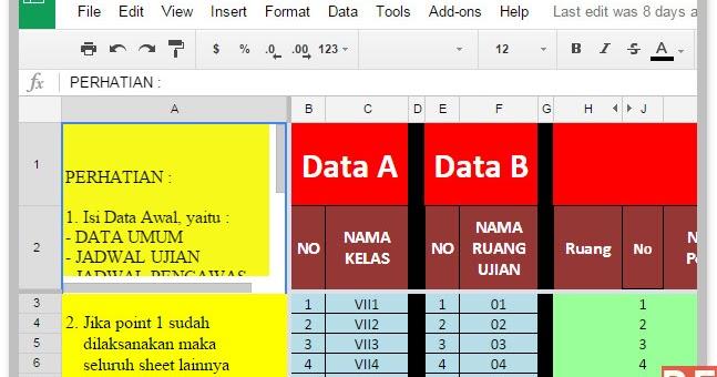 Aplikasi Excel Untuk Membuat Perlengkapan Ujian Di Sekolah
