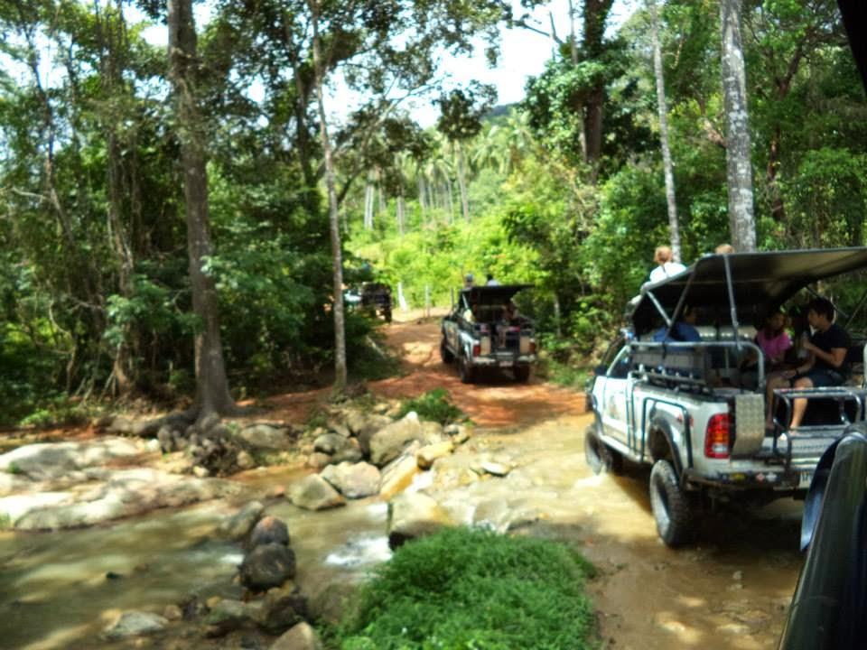 Tour de Eco- aventura en Koh samui