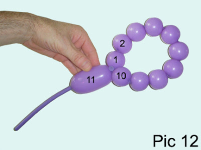 balloon twisting flower instructions
