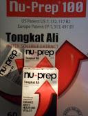 Nu-Prep 100 Tongkat Ali eurycoma longifolia JACK (patent US,EU )