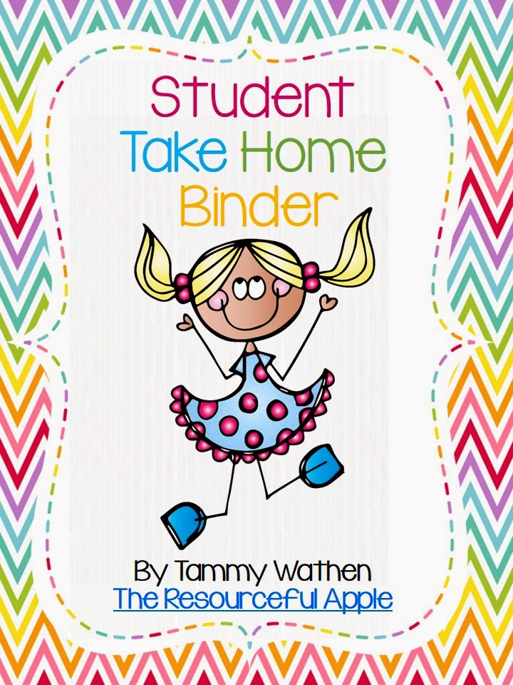 http://www.teacherspayteachers.com/Product/Student-Take-Home-Binder-Chevron-Style-1339836