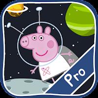 peppa pig space game