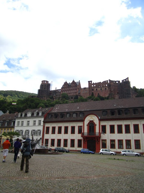 Heidelberg Castle in Heidelberg, Germany.
