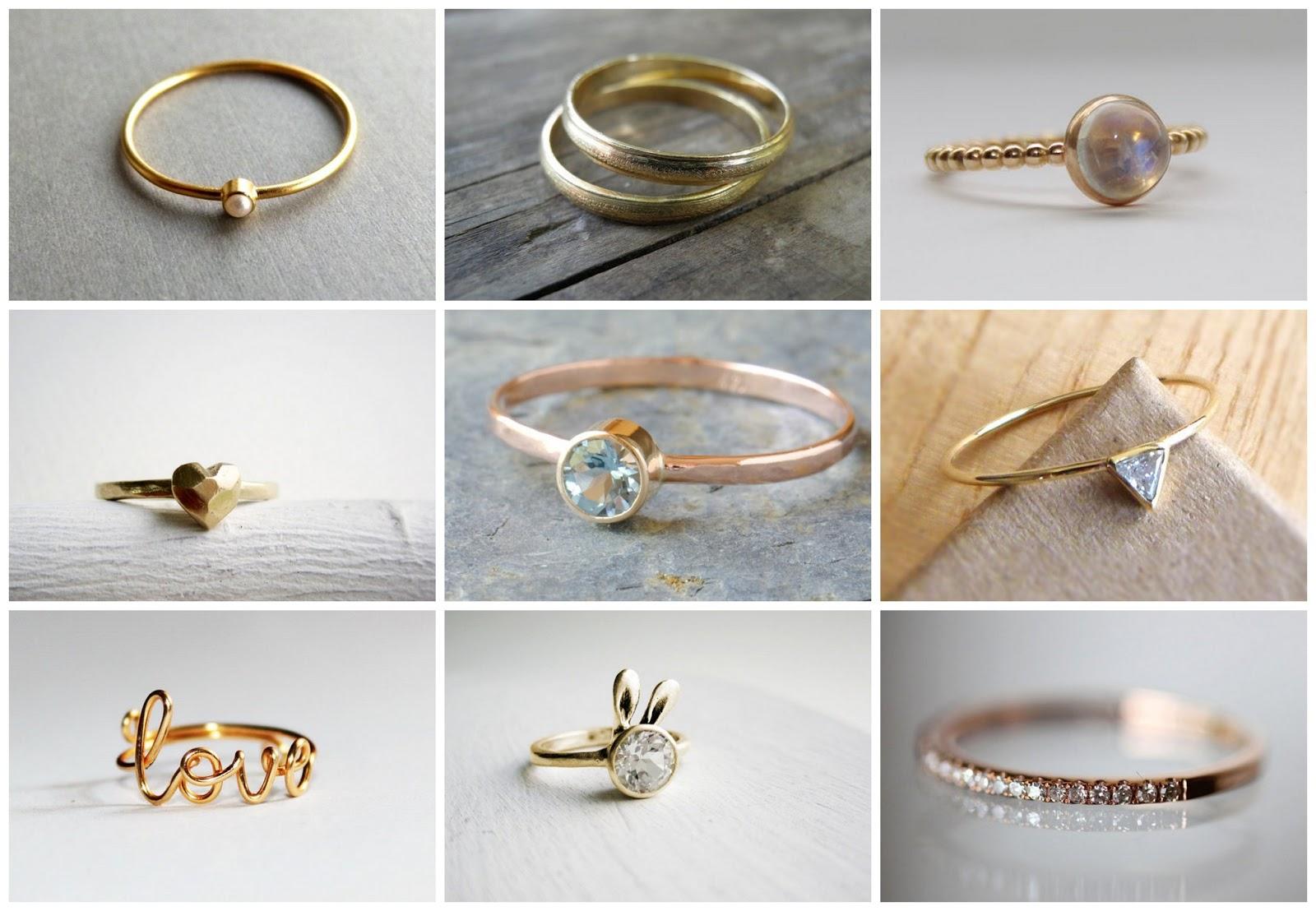 Nine Reasonable Engagement Rings