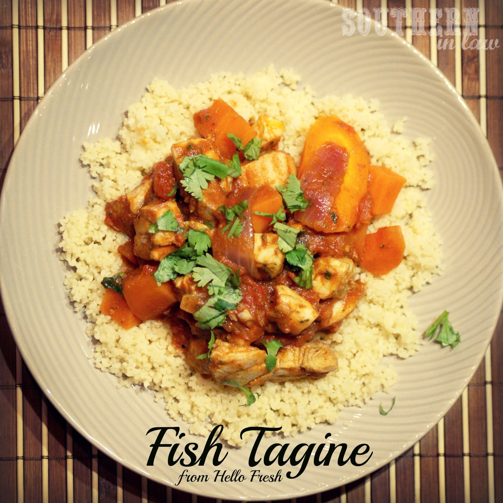 Southern in law recipe fish tagine for Fresh fish recipes
