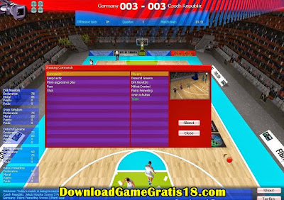 FIBA Basketball Manage r 2008 Game