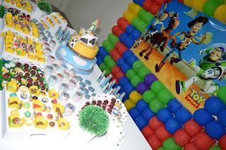 decoração toy story