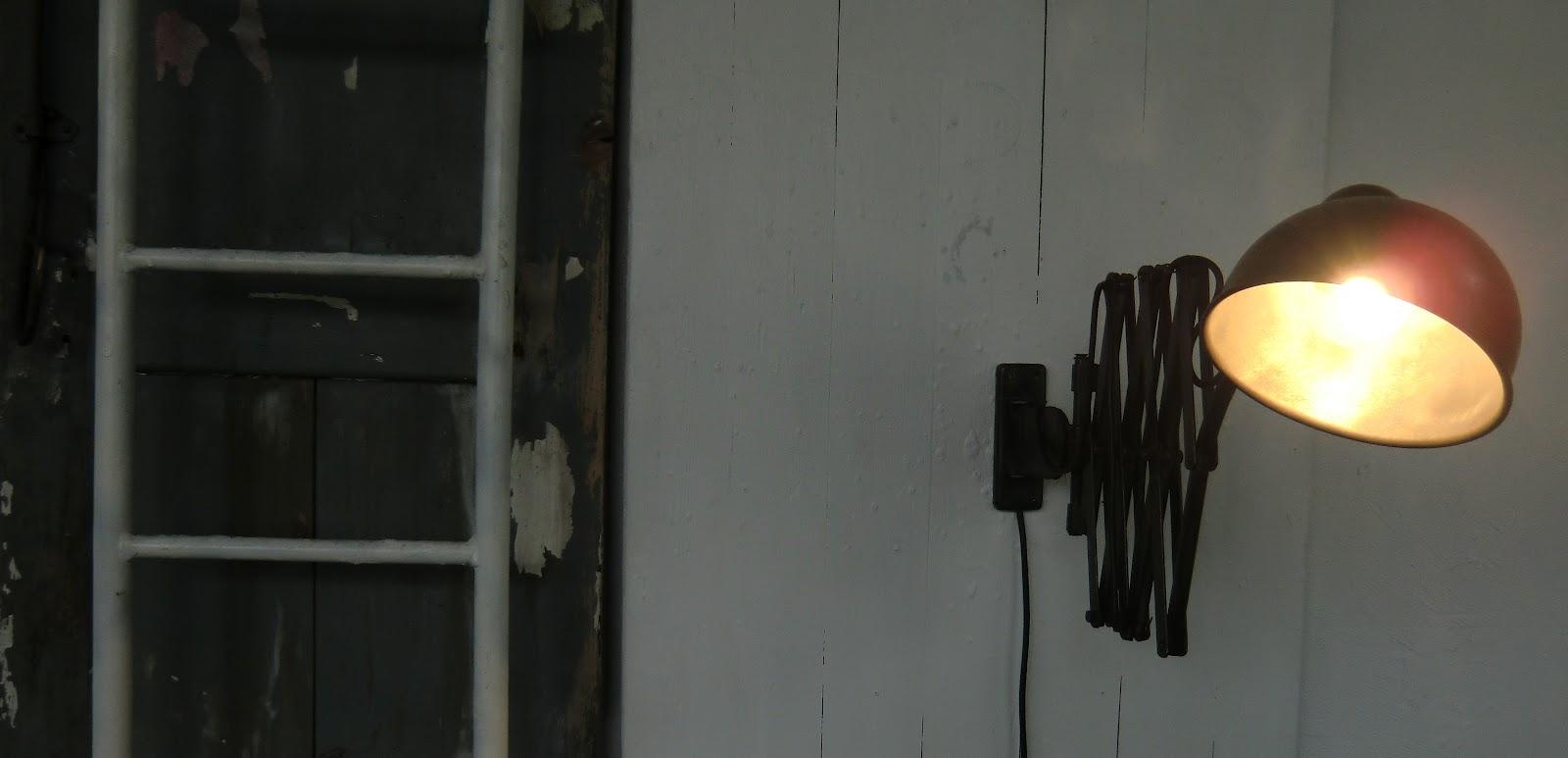 WO AND WÉ COLLECTION Applique murale potence vintage pivotante extensible
