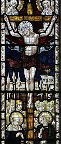 Crucifixion Window Yorkshire