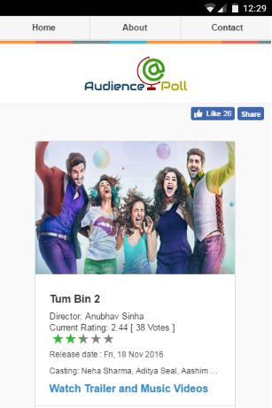Audience Poll - All about bollywood