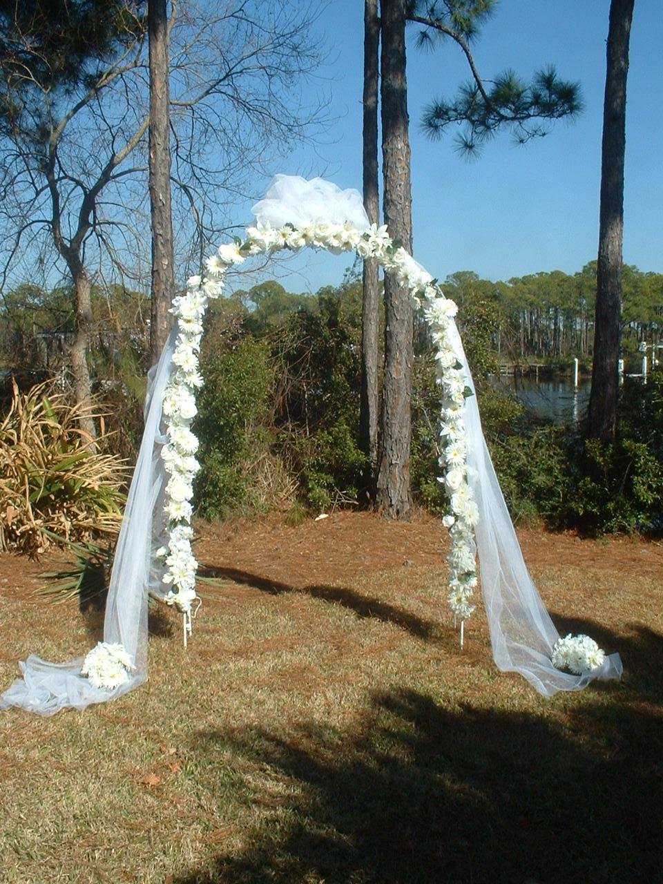 How To Decorate An Arbor For A Wedding