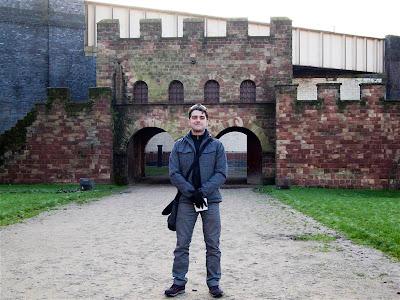 Reconstrucción del fuerte romano de Manchester en Castlefield