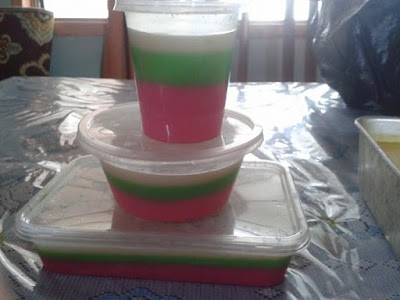 Agar-agar 3 Layer