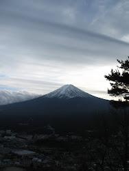 Mount Fuji...