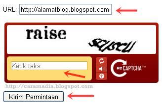 cara mendaftarkan blog