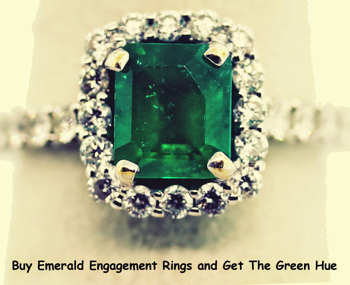 Buy Emerald Engagement Rings and Get The Green Hue