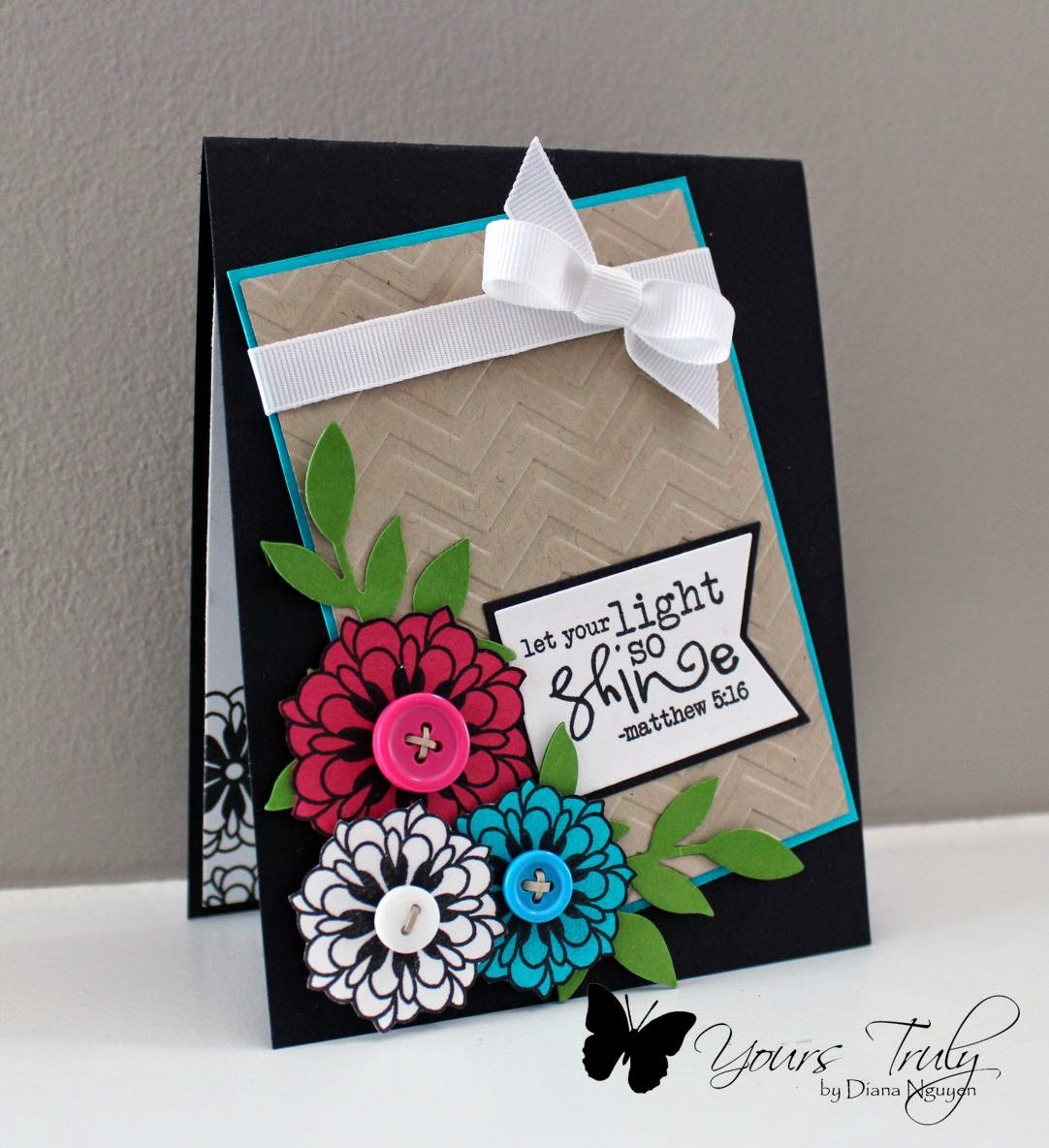 Diana Nguyen, let it be, Verve, handmade, card