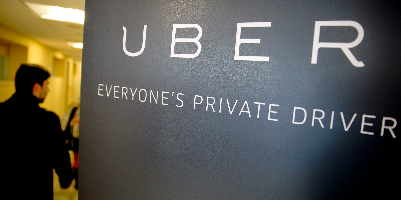Uber, Everyone's private driver.