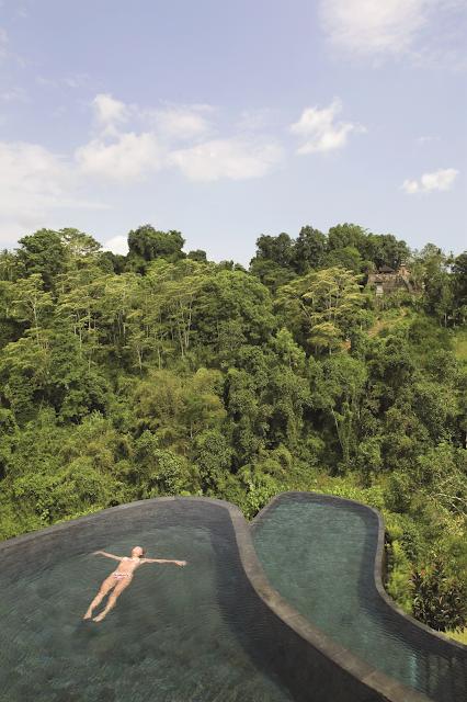esterno ubud hanging gardens indonesia