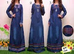 128 Gamis Jeans SOLD OUT