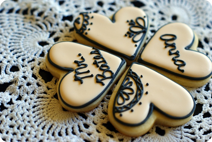 downton abbey love cookies...