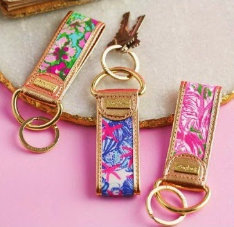 lilly pulitzer key chain